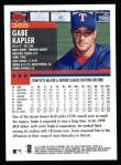 2000 Topps #368  Gabe Kapler  Back Thumbnail