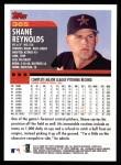 2000 Topps #365  Shane Reynolds  Back Thumbnail