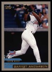 2000 Topps #97  Garret Anderson  Front Thumbnail