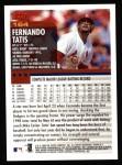2000 Topps #164  Fernando Tatis  Back Thumbnail