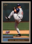 2000 Topps #244  Troy Percival  Front Thumbnail