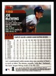 2000 Topps #192  Joe McEwing  Back Thumbnail