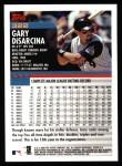 2000 Topps #322  Gary Disarcina  Back Thumbnail