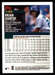 2000 Topps #142  Brian Hunter  Back Thumbnail