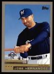 2000 Topps #353  Jose Hernandez  Front Thumbnail