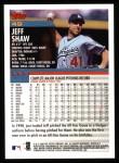 2000 Topps #49  Jeff Shaw  Back Thumbnail