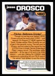 2000 Topps #460   -  Jesse Orosco Season Highlights Back Thumbnail