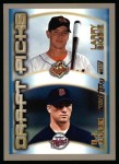 2000 Topps #209   -  B.J. Garbe / Larry Bigbie Draft Picks Front Thumbnail
