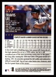 2000 Topps #377  Travis Lee  Back Thumbnail