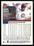 2000 Topps #30  Mark Grace  Back Thumbnail