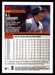 2000 Topps #19  B.J. Surhoff  Back Thumbnail