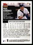 2000 Topps #286  Paul Konerko  Back Thumbnail