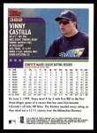 2000 Topps #382  Vinny Castilla  Back Thumbnail