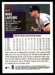 2000 Topps #41  Mike Lansing  Back Thumbnail