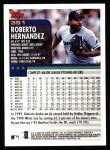 2000 Topps #351  Roberto Hernandez  Back Thumbnail