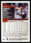 2000 Topps #141  Charles Nagy  Back Thumbnail