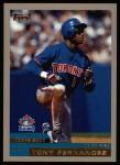 2000 Topps #198  Tony Fernandez  Front Thumbnail