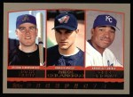 2000 Topps #202   -  Jack Cust / Mike Colangelo / Dee Brown Draft Picks Front Thumbnail
