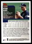 2000 Topps #432  Ryan Rupe  Back Thumbnail
