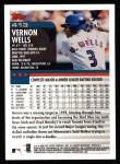 2000 Topps #413  Vernon Wells  Back Thumbnail