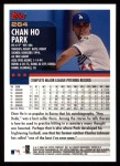 2000 Topps #264  Chan Ho Park  Back Thumbnail