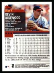 2000 Topps #321  Kevin Millwood  Back Thumbnail