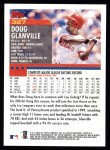2000 Topps #327  Doug Glanville  Back Thumbnail