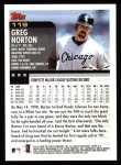 2000 Topps #119  Greg Norton  Back Thumbnail