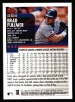 2000 Topps #354  Brad Fullmer  Back Thumbnail