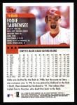 2000 Topps #168  Eddie Taubensee  Back Thumbnail