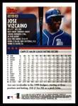 2000 Topps #298  Jose Vizcaino  Back Thumbnail