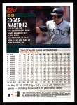 2000 Topps #89  Edgar Martinez  Back Thumbnail