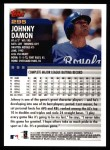 2000 Topps #295  Johnny Damon  Back Thumbnail
