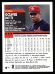 2000 Topps #362  Octavio Dotel  Back Thumbnail