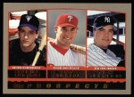 2000 Topps #204   -  Erubial Durazo / Pat Burrell / Nick Johnson Draft Picks Front Thumbnail