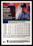 2000 Topps #386  Wilson Alvarez  Back Thumbnail