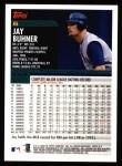2000 Topps #6  Jay Buhner  Back Thumbnail