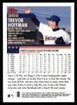 2000 Topps #355  Trevor Hoffman  Back Thumbnail