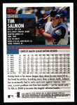 2000 Topps #348  Tim Salmon  Back Thumbnail