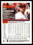 2000 Topps #12  Bret Saberhagen  Back Thumbnail