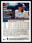 2000 Topps #402  Joey Hamilton  Back Thumbnail