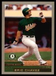 2000 Topps #299  Eric Chavez  Front Thumbnail