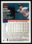 2000 Topps #123  Ryan McGuire  Back Thumbnail