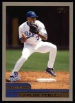 2000 Topps #282  Carlos Febles  Front Thumbnail