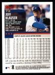 2000 Topps #73  Jeff Blauser  Back Thumbnail