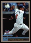 2000 Topps #9  Todd Greene  Front Thumbnail