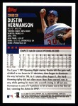 2000 Topps #323  Dustin Hermanson  Back Thumbnail