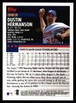 2000 Topps #323  Dustin Hermanson  Back Thumbnail