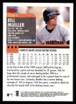 2000 Topps #391  Bill Mueller  Back Thumbnail