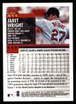 2000 Topps #411  Jaret Wright  Back Thumbnail